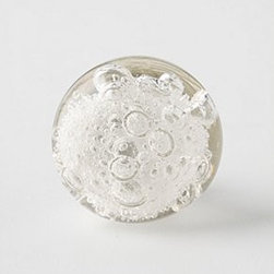 Anthropologie - Glass Bubble Knob - *Tighten with care