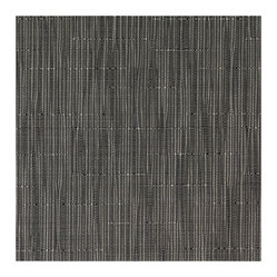 Chilewich Square Bamboo Placemat Set, Gray Flannel