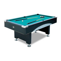 """Vegas 8' Pool Table with Slate - -Dimensions: 99-1/2"""" x 55"""" x 31"""""""