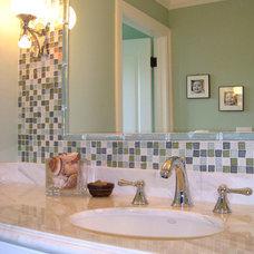 Mediterranean Bathroom by GoGo Creations