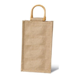 Franmara - Brown Burlap Jute Vino-Sack for Two Wine Bottles with Handles - This gorgeous Brown Burlap Jute Vino-Sack for Two Wine Bottles with Handles has the finest details and highest quality you will find anywhere! Brown Burlap Jute Vino-Sack for Two Wine Bottles with Handles is truly remarkable.