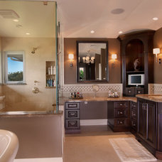 Traditional Bathroom by GDC Construction