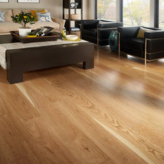 contemporary wood flooring by Ashawa Bay Hardwood Floors