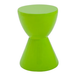 Eurostyle - Weylyn Stool - Green - High Gloss Fiberglass