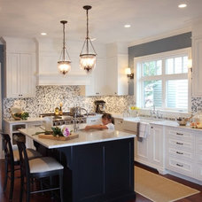Transitional Kitchen by Shift Interiors