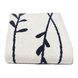 In2Green - Eco Vine Blanket - In2green products are 100% sweatshop free. We believe in finding second generation uses for products, saving water and adding less chemical pollutants. A portion of all proceeds are given to support student activists for environmental causes as well as important environmental organizations such as Leave No Trace. Features: -Blend of recycled cotton yarns all knit. -Recycled cotton alternative in beautiful heather and mélange colors. -A unique line of eco friendly throws are colorful, modern.