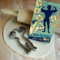 Talisman Designs Perfect Retro Cookie Cutter - Talisman Designs' Retro Cookie Cutters are the perfect solution to your problems. Bake the perfect family with Talisman Designs' perfect man, super woman, dog and cat cookie cutters. Features functional and adorable packaging.