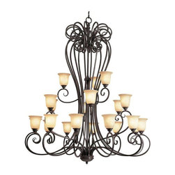 Trans Globe Lighting - Trans Globe Lighting 70291 Chandelier In Burnished Rust - Part Number: 70291
