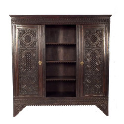 1910's Moroccan Style Armoire -