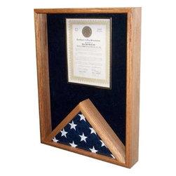 Certificate Holder,Flag Display Case - Certificate Holder & Flag Display Case