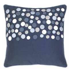 Rizzy Home - Black and Silver Decorative Accent Pillows (Set of 2) - T04152 - Set of 2 Pillows.