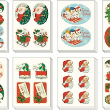 Traditional Holiday Decorations by Paper Source