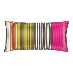 Delphi Peony Throw Pillow by Designers Guild - Here's a Designers Guild pillow that is a bit of a splurge, but it's doable if you've been able to save money on other accessories for your room.