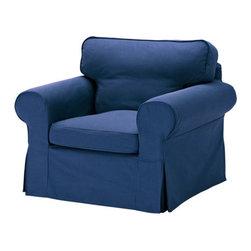 IKEA of Sweden - EKTORP Chair - Chair, Idemo blue