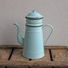 traditional coffee makers and tea kettles by Etsy