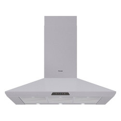 Thermador - 42 inch Masterpiece Series Pyramidal Style Chimney Wall Hood HMCB42FS - A beautiful Masterpiece Series kitchen deserves Masterpiece Ventilation. Our stainless steel Chimney Wall Hood comes with a 600 CFM integrated blower.