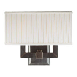 Hudson Valley - 352-SN Waverly Bath Vanity Light, Satin Nickel - Modern Contempo Bath Vanity Light in Satin Nickel from the Waverly Collection by Hudson Valley.