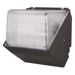 "MONUMENT - MH FLOOD PS 175 W W/LAMP - | Metal Halide Floodlight | Aluminum housing with bronze finish comes with tempered glass lens | Dimensions: 9""W X 9""H X 7""D 