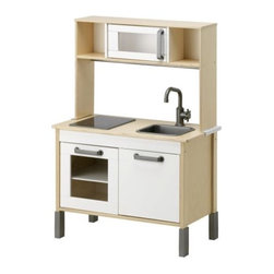 Mikael Warnhammar - Duktig Mini-Kitchen | IKEA - May I introduce you to my favorite modern, well-priced play kitchen? And it comes for under $100! The stove even lights up with the addition of a few batteries. It's a real keeper.