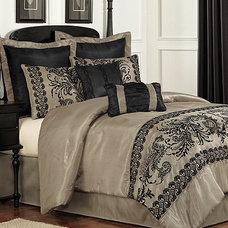 Luciel Lace 8 Piece Comforter Sets