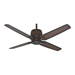 "Casablanca - Casablanca 59124 Aris Brushed Cocoa Energy Star 54"" Outdoor Ceiling Fan - Energy Star Rated"