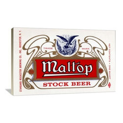 "Artsy Canvas - Maltop Stock Beer 48"" X 32"" Gallery Wrapped Canvas Wall Art - Maltop Stock Beer beautifully represented on 48"" x 32"" high-quality, gallery wrapped canvas wall art"