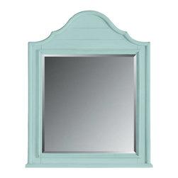 Stanley Furniture - Coastal Living Cottage-Arch Top Mirror - Finish: Sea Mist
