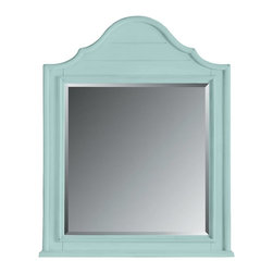 Stanley Furniture - Coastal Living Cottage-Arch Top Mirror - Finish: Sea Mist