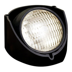LANDSCAPE - LANDSCAPE Rubber Boot Held PAR 36 Outdoor Well Light (Pack of 12) X-21KB88451 - This Kichler Lighting outdoor well light comes in a pack of 12 and features a combination of stainless steel and polypropylene construction finished in a solid Black hue. It can be flush mounted or semi-recessed for different lighting effects.