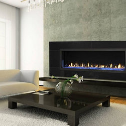 Heat & Glo RED Series Gas Fireplace - The RED (Rectangular European Design) Series works beautifully with the non-traditional shapes, materials and modern design elements. Make it your own with many custom finishing options.