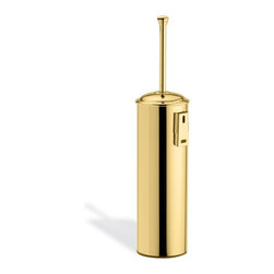 StilHaus - Gold Wall Mounted Brass Toilet Brush Holder SM039M-16 - Wall toilet brush holder. Made of brass in gold. Wall toilet brush holder. Made of gold brass. From StilHaus Smart Collection.