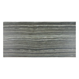 "Rondine - Eramosa - 12""x24"" Vein Cut Porcelain Tile by Rondine, Grey - Sold per Piece - there are 2 square feet per piece"