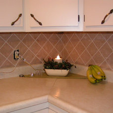 Traditional Tile by Swiss Village Concrete Ltd