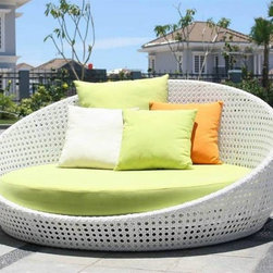 Dohn Patio Sofa Bed - Relax and enjoy indoor or outdoors with this Dohn Patio Sofa Bed.