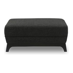 Bryght - Ceni Liquorice Ottoman - The Ceni Liquorice ottoman fuses the classic with the modern, with its warm earthy tone and plush seating. The Ceni Liquorice ottoman works well with the Ceni Liquorice sofa, Ceni Liquorice armchair and/or Ceni Liquorice loveseat, or use it to compliment any other seating arrangement of your choice.