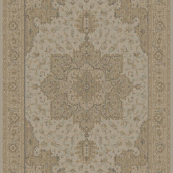 Dynamic Rugs - Dynamic Rugs Imperial 7.10X10.10 622-600 Faded Taupe - Classic design with an up to date modern feel, the Imperial Collection delivers sheen and softness. Woven in Belgium, these rugs utilize innovative techniques that allow the rugs to deliver abundant elegance and durability. Subtle color palettes and graceful patterning bring spark and style to the Imperial Collection.