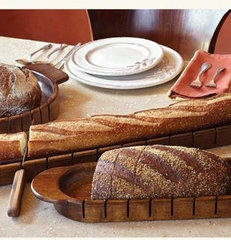 eclectic knives and chopping boards by Napa Style