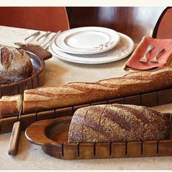 Cross-Cut Artisan Bread Slicers - Missing digits? This will help. Seriously, though, we love the Napa Style stuff because it is well thought out and generally beautiful and functional.