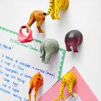 Safari Animal Butt Magnets -