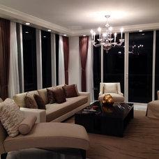 Contemporary Living Room by Sarah Z Designs
