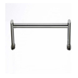 Top Knobs - Top Knobs Hopewell Bath 18 Inch Single Towel Rod Satin Nickel - Top Knobs Hopewell Bath 18 Inch Single Towel Rod Satin Nickel