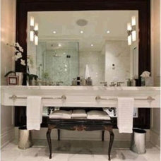 Contemporary Bathroom Vanities And Sink Consoles by Marble Trend