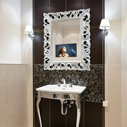 Raysgem/ Waterproof TVs for The Bath & Shower/ Represented by Dale Mallie - Raysgem, accomplished manufacturer of Waterproof Mirrored Tvs, is now represented by Dale Mallie/ phone: 954 646 3931 email: dale mallie@gmail.com