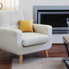 Contemporary Armchairs And Accent Chairs by Torrance and McKenna