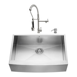 7 Inch Apron Front Sink : Kitchen Sink 7 Inch Depth Kitchen Sinks: Find Apron and Farmhouse Sink ...