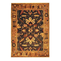 Safavieh - Traditional Tibetan 8'x10' Rectangle Assorted Area Rug - The Tibetan area rug Collection offers an affordable assortment of Traditional stylings. Tibetan features a blend of natural Assorted color. Hand Knotted of Wool the Tibetan Collection is an intriguing compliment to any decor.