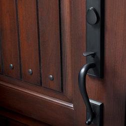 Fiberglass Doors - Close up -
