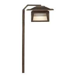 Kichler - Zen Garden Path Light by Kichler - A stylish way to add peace and tranquility to the rock garden or path. The Kichler Zen Garden Path Light expresses a comfortable balance between nature and man in its minimalist design. Crafted with an earth-toned Olde Bronze finish that patinas over time and harmonizes with any backyard landscape. Since 1938, Cleveland-based Kichler Lighting has created exceptional lighting in a variety of styles, finishes, colors and designs. With a diverse collection of indoor and outdoor lighting in classic and contemporary styles, Kichler Lighting always focuses on making home lighting that is both beautiful and functional.