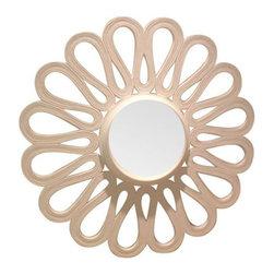 New! Oly Studio White Resin Mirror - $800 Est. Retail - $250 on Chairish.com -