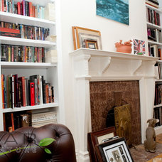 Traditional Bookcases by Bespoke Fitted Furniture London | Avar Furniture
